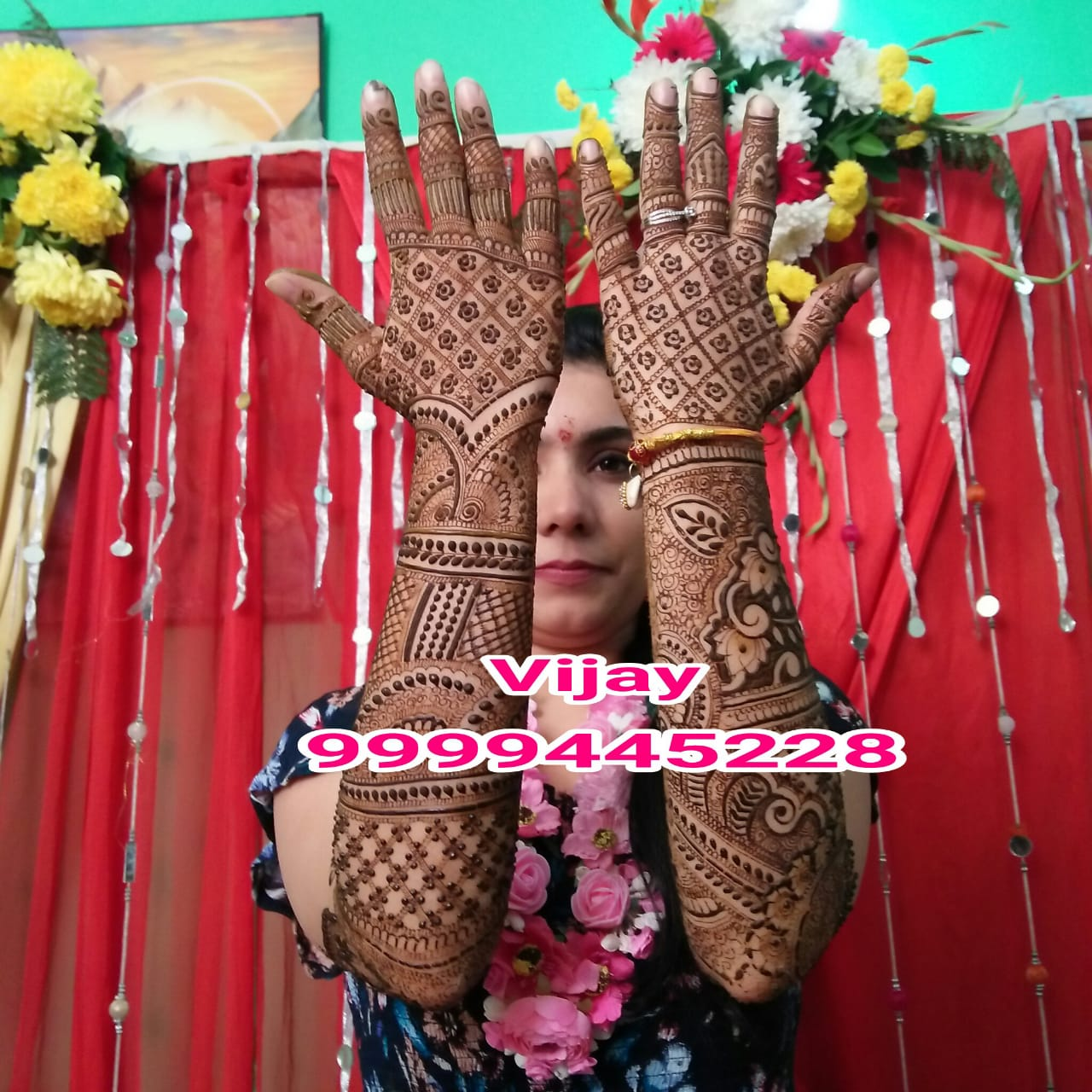 Famous Best bridal Mehandi artist up